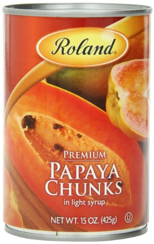 Canned & Jarred Papayas