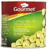 Gourmet - Corazones de alcachofa - al natural 30/40 piezas - 1550 g