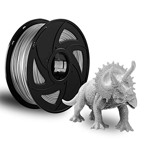 3D Printer Filament Gray PETG Filament 1.75mm 1kg Spool FDM 3D Printing Dimensional Accuracy XVICO