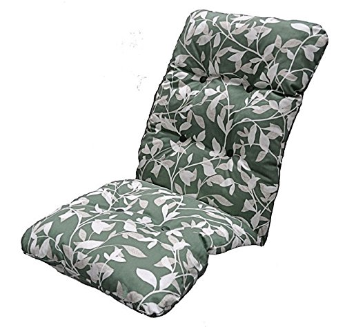 GB Leisure Replacement Deluxe Thick High Back Garden Chair Thick Cushion Pad Ashley Green