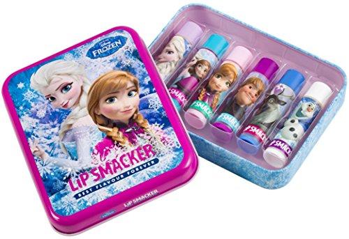 Markwins – Lip Smacker Disney Frozen Geschenkdose mit 6 Lippenpflegestiften in unterschiedlichen...