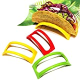 Set of 12 Original Homey Product Taco Holders - Colorful Non Toxic BPA...