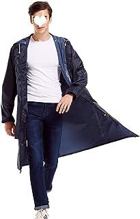 PENGFEI 恋人たち レインコート ポンチョ 防水 日焼け止め アウトドア旅行 釣り 通気性のある 2色、 4サイズ (色 : 紺, サイズ さいず : XXL)