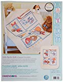 Dimensions Stamped Cross Stitch 'Little Sports' DIY Baby Quilt, 34' x 43'