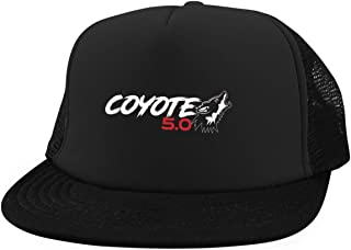 Coyote 5.0 Ford Mustang District Trucker Hat with Snapback