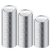 150-Count, Regular Mouth Canning Lids for Ball, Kerr Jars - Split-Type Metal Mason Jar Lids for Canning - Food Grade Material, 100% Fit & Airtight for Regular Mouth Jars (150 pcs, Regular Mouth)