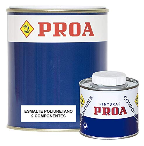 ESMALTE POLIURETANO DOS COMPONENTES BRILLANTE. Excelente adherencia para pintar sobre hierro, azulejo, fibra, cristal.