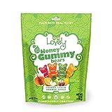 Gelatin-Free Honey Gummy Bears - Lovely Co....