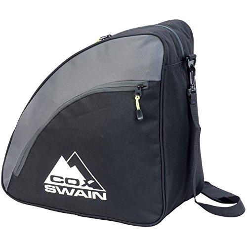 Cox Swain Snowboard & Ski Boot Bag -CAVELL- ebenfalls geeignet für Inline-Skates, Schlittschuhe etc, Colour: Black/Grey, Size: One Size