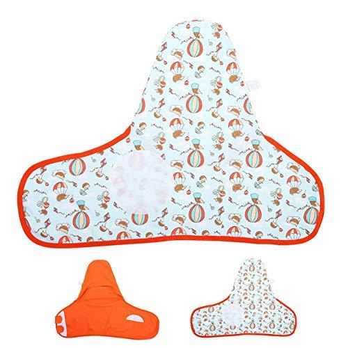 Cómodo y suave Swaddling para recién nacidos 2 piezas Bolsa de dormir infantil para unisex para mantener el calor(M)