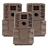 Moultrie 2017 A 30 Game Camera | 0.7s Trigger Speed Mobile Compatible (3 Pack)