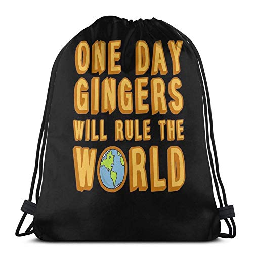 One Day Gingers Will Rule The World - Mochila deportiva con cordón