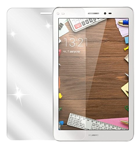dipos I 2X Schutzfolie klar kompatibel mit Huawei MediaPad T1 8.0 / Honor T1 Folie Bildschirmschutzfolie