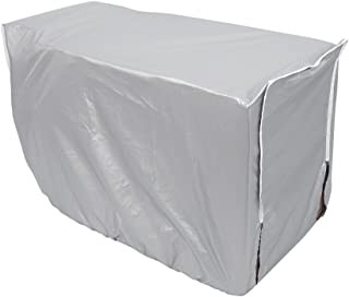 Outdoor Air Conditioner Cover Rectangle Polyester Waterproof Air Conditioner Dust Cover (#3 94 * 40 * 73cm)