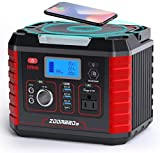 ZOOMBROS 330W Portable Power Station, 289WH Solar...