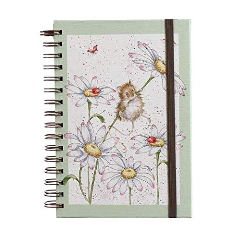 """Wrendale Designs A5 Notizbuch \""""Oops a Daisy\"""" Maus"""
