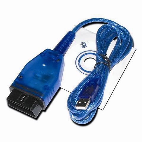 KIA 20 PIN to OBD Obd2 Obdii DLC 16 Pin Car Diagnostic Adapter Converter Cable for KIA (Blue)
