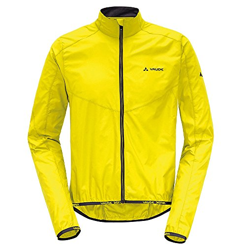 Vaude, Air Jack, fietsjas, windjas heren. 100% winddicht. Supermooi. Klein pakformaat. rood.