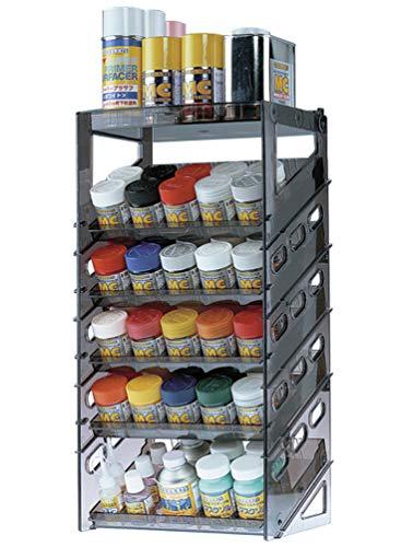 ウェーブ ペイントラック ホビー用塗料棚 HT-072