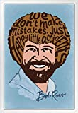 Bob Ross Poster Happy Little Accidents Word, Holz, 35,6 x