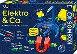 KOSMOS 620639 Elektro & Co. Elektro-Wissen leicht gemacht, Einsteiger-Experimente zu Strom, Magnete, Elektro-Magnetismus, Ampel steuern, Ventilator bauen,Experimentierkasten für Kinder ab 8 - 12 Jahre