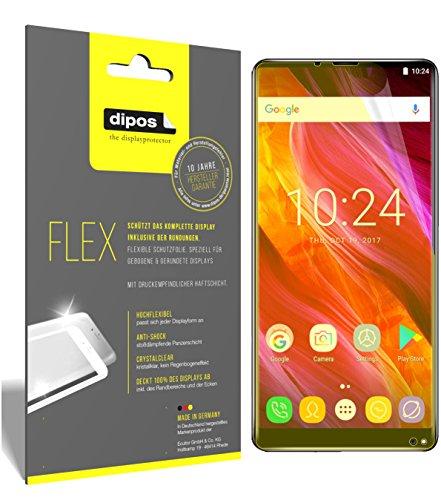 dipos I 3X Schutzfolie 100prozent kompatibel mit Oukitel Mix 2 Folie (Vollständige Bildschirmabdeckung) Bildschirmschutzfolie