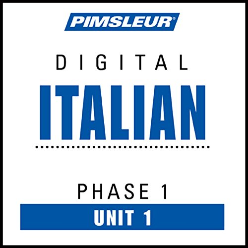 Italian Phase 1, Unit 01 audiobook cover art