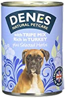 Real fresh meat Wholesome ingredients No added sugar or salt No artificial flavours, colours or preservatives Complete Food Denes has been a leader in natural health care for cats and dogs since 1951. A totally cereal free, general maintenance recipe...