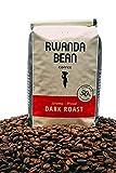 Rwanda Bean: Ishema-Proud Premium Coffee Beans (DARK ROAST) Direct Trade - Keto Coffee - Organic Coffee - All Natural Coffee - Kosher Coffee - Whole Bean Coffee - Healthy Caffeine (12oz)