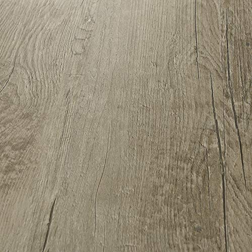 neu.holz Pisos de Vinilo-PVC Decorativo Diseño de Pisos laminados Suelo Autoadhesivo 28 planchas Decorativas = 3,92 m² Roble Tradicional 'Traditional Oak'
