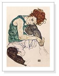 エゴン・シーレ,The Artist's Wife,1917年
