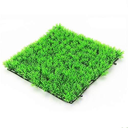 Fliyeong Premium Qualität Aquarium künstliche Rasen Wasser grün Gras Pflanze Aquarium Dekor