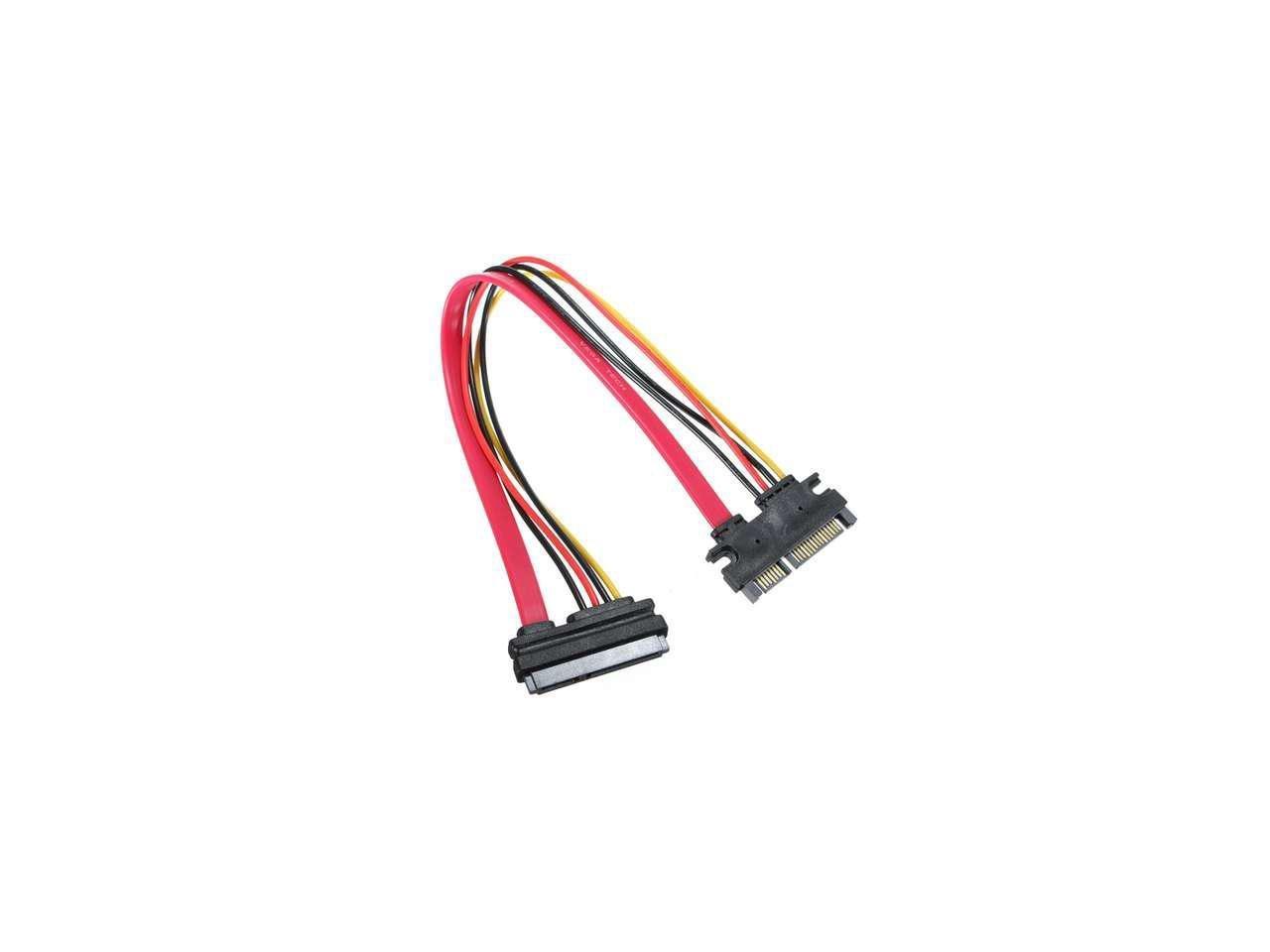 Tekit Male to Female 7+15 PIN Serial SATA Power Max New color 46% OFF 22 Data ATA EXTE
