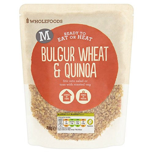 Morrisons Bulgur Wheat and White Quinoa Cooked with Sunflower Oil, 250 g