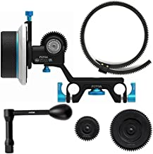 Fotga Upgraded DP500 Mark III Dampen Follow Focus for 15mm Rods Rig Fit for All DSLR Video Cameras Blackmagic BMCC BMPCC 5DIII 5DIV Sony A7R A7S A7SII A7III A7SIII A9 GH3 GH4 GH5 GH5s D500