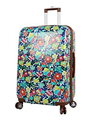 lily bloom hard side luggage for women