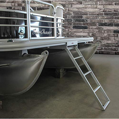 Extreme Max 3005.3434 Undermount Pontoon Ladder - 4-Step