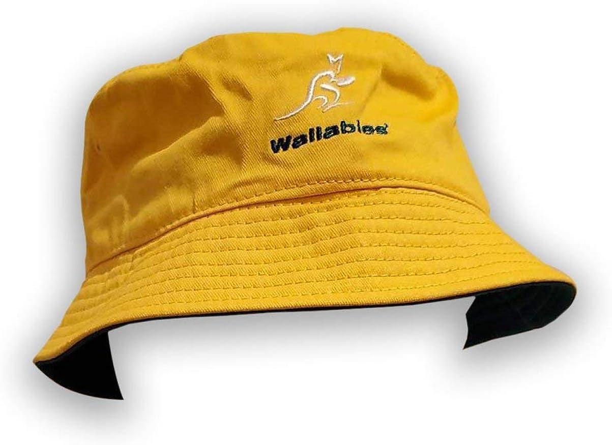 Wallabies Australia Albuquerque Mall Regular dealer Gold Hat Bucket