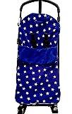 Snuggle saco/Cosy Toes Compatible con Jane Buggy Trider Rider Slalom Epic Nanuq azul Star