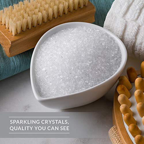 SaltWorks Ultra Epsom, Lavender Scented Premium Epsom Bath Salt, 5 Pound Resealable Bag