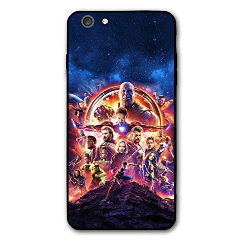 Comics iPhone 6s Plus Case iPhone 6 Plus Case Full Body Protection Cover Cases (Avengers-mar-vel)