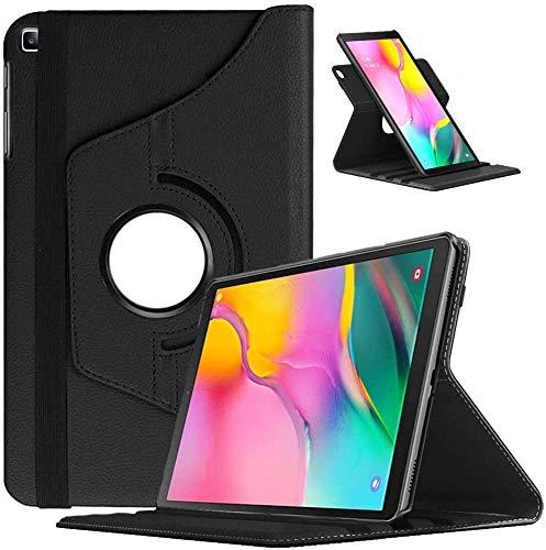 KATUMO Funda para Samsung Galaxy Tab A 10.1 2019 360° Rotable Carasa SM T510/T515 Cuero Protector Cover con Función Soporte para Samsung Tablet A 10,1 2019