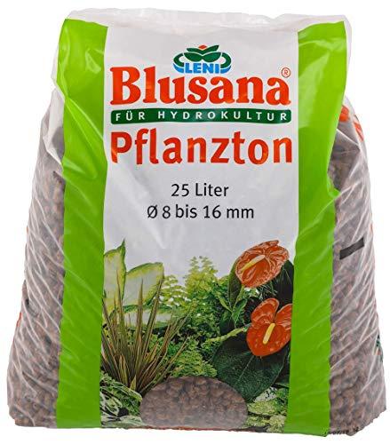 Leni P 6550 Blusana Pflanzton Substrat für Hydrokultur 8/16 Körnung 25 l