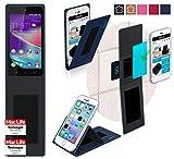 Hülle für Wiko Rainbow Lite 4G Tasche Cover Hülle Bumper | Blau | Testsieger