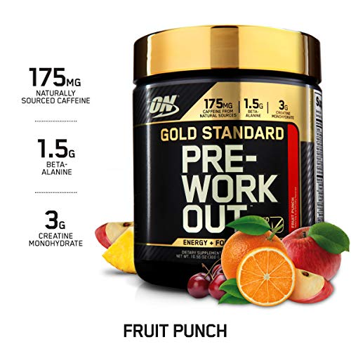 OPTIMUM NUTRITION Gold Standard Pre-Workout with Creatine