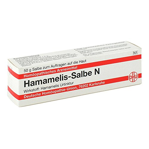 DHU Hamamelis-Salbe N, 50 g Salbe