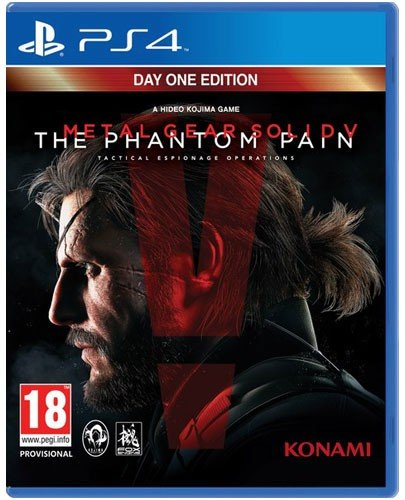 MGS 5 PS-4 Phantom Pain Day 1 AT Metal Gear Solid