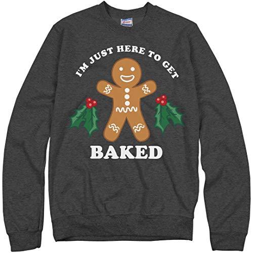 Baked For Christmas: Unisex Hanes Ultimate Crewneck Sweatshirt