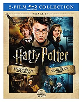 Harry Potter Double Feature  Harry Potter and the Prisoner of Azkaban / Harry Potter and the Goblet of Fire [Blu-ray]  Cover may Vary