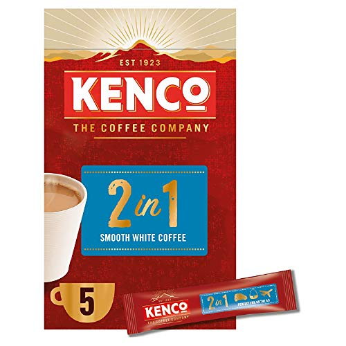 Kenco Instant Coffee Sachets, Pack of 5, 40-Count